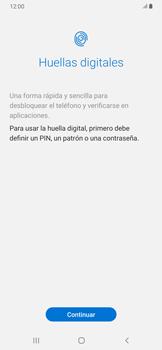 Habilitar seguridad de huella digital - Samsung Galaxy A30 - Passo 5