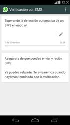 Configuración de Whatsapp - Motorola Moto E (1st Gen) (Kitkat) - Passo 7