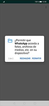 Configuración de Whatsapp - Huawei P30 Pro - Passo 9