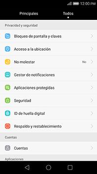 Restaura la configuración de fábrica - Huawei G8 Rio - Passo 3
