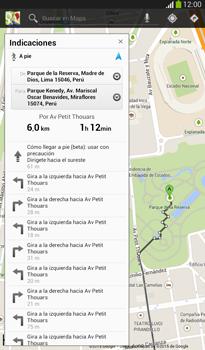Uso de la navegación GPS - Samsung Galaxy Tab 3 7.0 - Passo 15