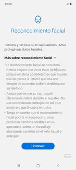 Cómo configurar el Face ID - Samsung Galaxy S10 Lite - Passo 6