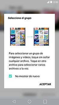 Transferir fotos vía Bluetooth - LG V20 - Passo 5