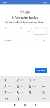 Crea una cuenta - Xiaomi Redmi Note 7 - Passo 7