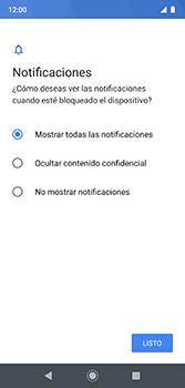 Desbloqueo del equipo por medio del patrón - Motorola Moto G7 Plus - Passo 11
