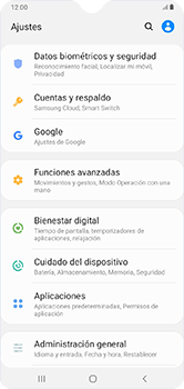 Limpieza de aplicación - Samsung Galaxy A10 - Passo 3