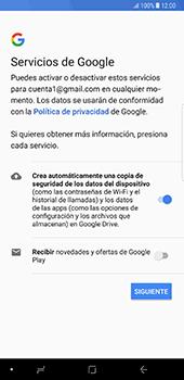 Crea una cuenta - Samsung Galaxy Note 8 - Passo 16