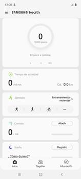 Cómo funciona el Samsung Health - Samsung Galaxy A51 - Passo 10
