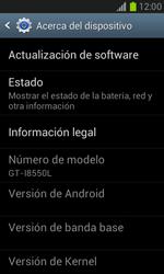 Actualiza el software del equipo - Samsung Galaxy Win - I8550 - Passo 6