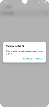 Configura el WiFi - LG K40S - Passo 4