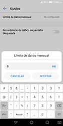 Desactivación límite de datos móviles - Huawei Y5 2018 - Passo 8