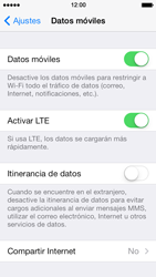Desactiva tu conexión de datos - Apple iPhone 5s - Passo 3