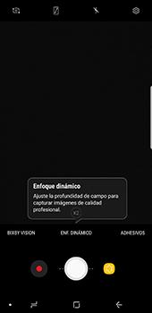 Opciones de la cámara - Samsung Galaxy Note 8 - Passo 7