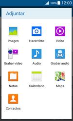 Envía fotos, videos y audio por mensaje de texto - Samsung Galaxy Core Prime - G360 - Passo 13