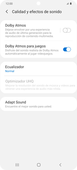 Cómo reproducir sonido con el Dolby Atmos - Samsung Galaxy S20 - Passo 6