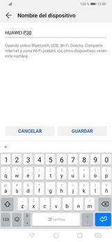 Configura el hotspot móvil - Huawei P30 - Passo 6