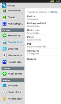 Desbloqueo del equipo por medio del patrón - Samsung Galaxy Tab 3 7.0 - Passo 6