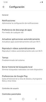 Cambiar configuración de actualizaciones de aplicaciones - Samsung Galaxy S20 - Passo 11