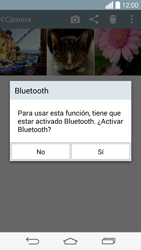 Transferir fotos vía Bluetooth - LG G3 Beat - Passo 9