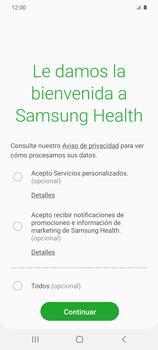 Cómo funciona el Samsung Health - Samsung Galaxy S20 - Passo 5