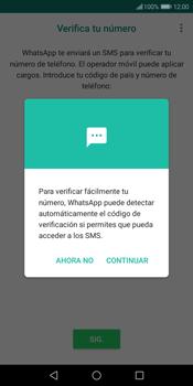 Configuración de Whatsapp - Huawei Y7 (2018) - Passo 10