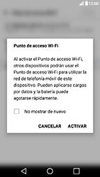Configura el hotspot móvil - LG X Power - Passo 9