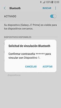 Conecta con otro dispositivo Bluetooth - Samsung Galaxy J7 Prime - Passo 8