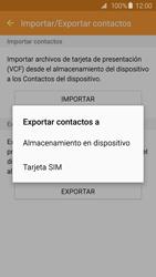 ¿Tu equipo puede copiar contactos a la SIM card? - Samsung Galaxy S6 - G920 - Passo 8