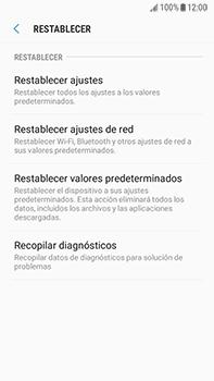 Restaura la configuración de fábrica - Samsung Galaxy J7 Prime - Passo 6