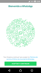Configuración de Whatsapp - Sony Xperia XZ Premium - Passo 4