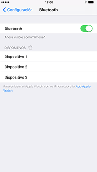 Conecta con otro dispositivo Bluetooth - Apple iPhone 7 Plus - Passo 5
