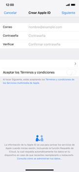 Crea una cuenta - Apple iPhone XS Max - Passo 7