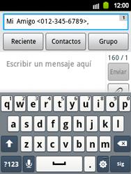 Envía fotos, videos y audio por mensaje de texto - Samsung Galaxy Y  GT - S5360 - Passo 7
