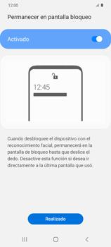 Cómo configurar el Face ID - Samsung Galaxy S20 - Passo 14