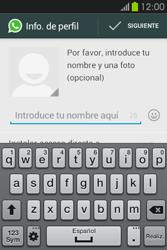 Configuración de Whatsapp - Samsung Galaxy Fame GT - S6810 - Passo 8