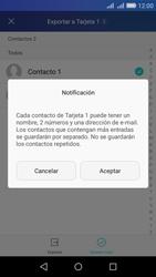 ¿Tu equipo puede copiar contactos a la SIM card? - Huawei Y6 - Passo 9