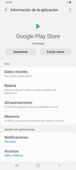 Limpieza de aplicación - Samsung Galaxy A80 - Passo 5