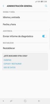 Restaura la configuración de fábrica - Samsung Galaxy S9 Plus - Passo 5