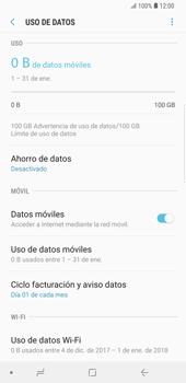 Desactivación límite de datos móviles - Samsung Galaxy S9 Plus - Passo 6