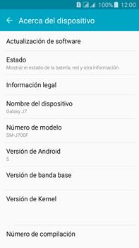 Actualiza el software del equipo - Samsung Galaxy J7 - J700 - Passo 6