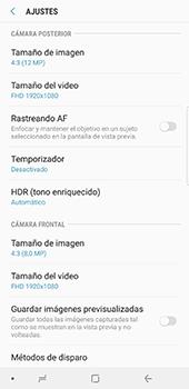 Opciones de la cámara - Samsung Galaxy Note 8 - Passo 10