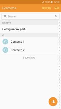 ¿Tu equipo puede copiar contactos a la SIM card? - Samsung Galaxy Note 5 - N920 - Passo 4