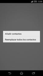 ¿Tu equipo puede copiar contactos a la SIM card? - Sony Xperia Z2 D6503 - Passo 9