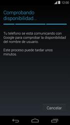 Crea una cuenta - Motorola Moto E (1st Gen) (Kitkat) - Passo 8