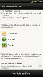 Restaura la configuración de fábrica - HTC One S - Passo 6