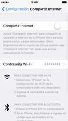 Configura el hotspot móvil - Apple iPhone SE - Passo 6