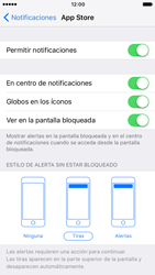 Personalizar notificaciones - Apple iPhone 7 - Passo 4