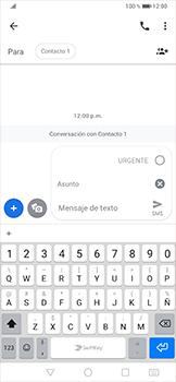 Envía fotos, videos y audio por mensaje de texto - Huawei P30 Pro - Passo 6