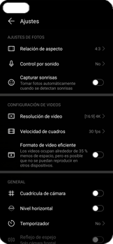 Cómo grabar videos con resolución 4K - Huawei P40 - Passo 8