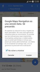 Uso de la navegación GPS - Samsung Galaxy A5 - A500M - Passo 17